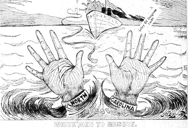 """White Men to the Rescue,"" Raleigh <em>News and Observer</em>, September 6, 1898"