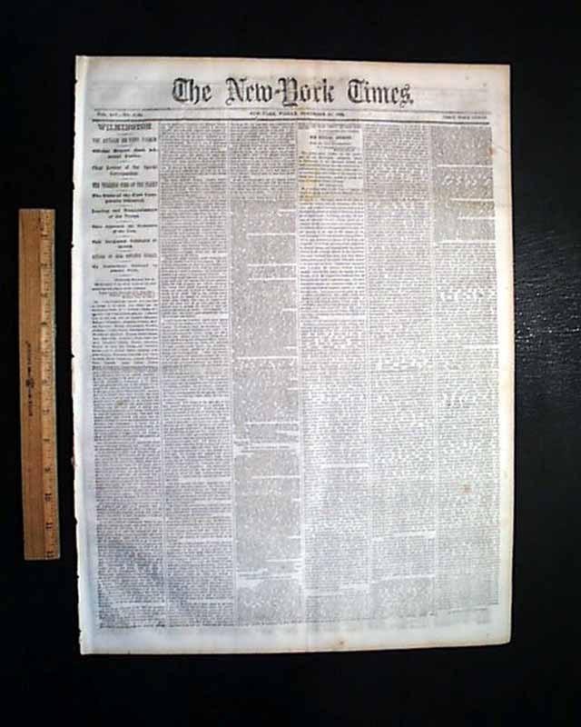 """""""Wilmington. The Attack on Fort Fisher,"""" <em>New York Times</em>, December 30, 1864<br />"""