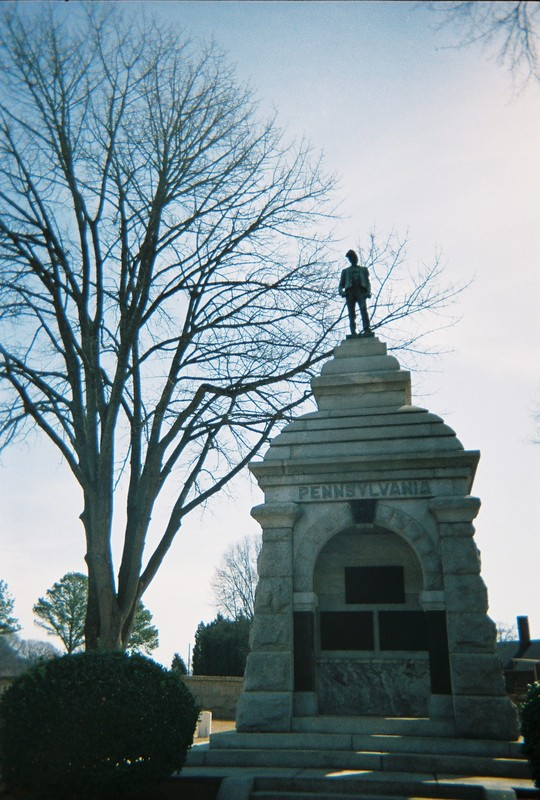 Pennsylvania Monument at Salisbury National Cemetery