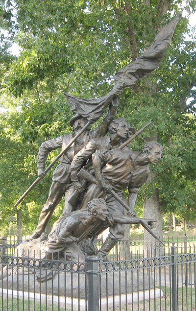 North Carolina Monument at Gettysburg