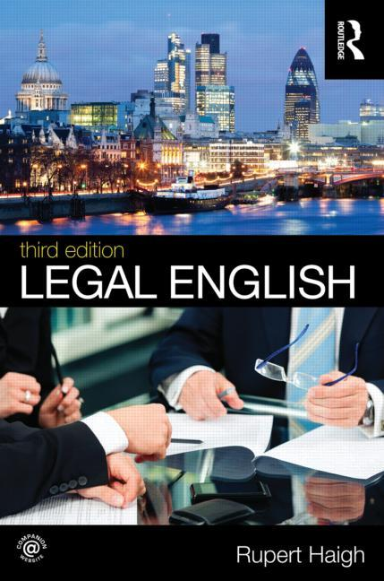 Rupert Haigh, <em>Legal English</em> (2012)