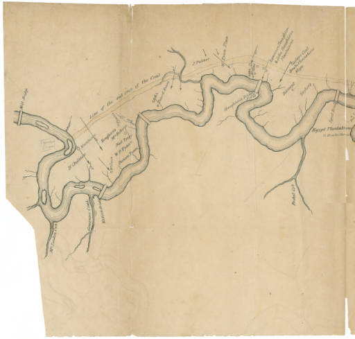 Charles T. Jackson, Geological Map of Deep River Coal Field: From Recent Surveys, September 1853