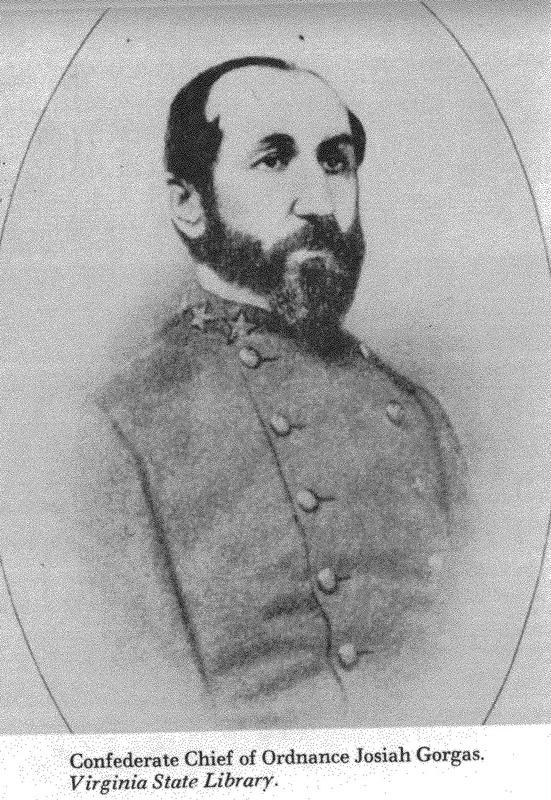 Photograph of Col. Josiah Gorgas