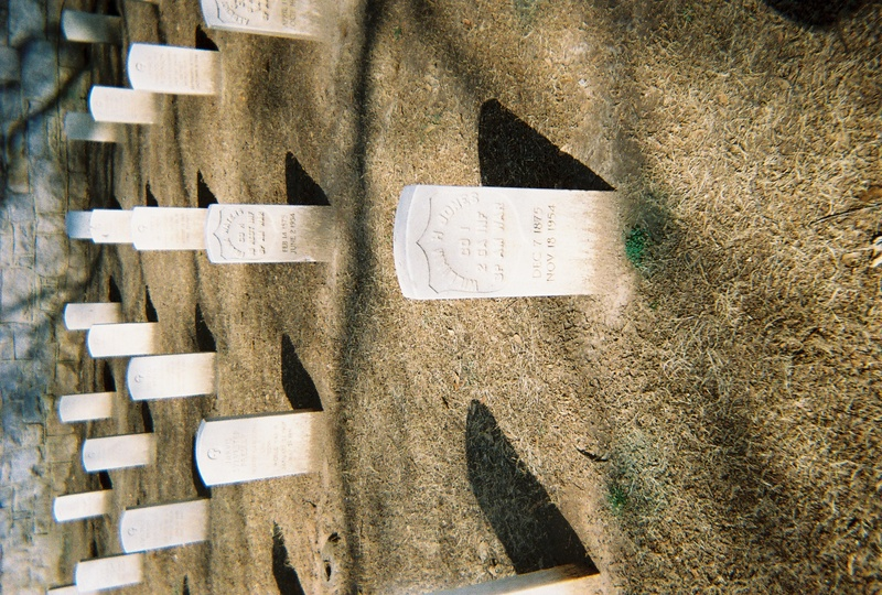 Grave of William Jones at Salisbury National Cemetery