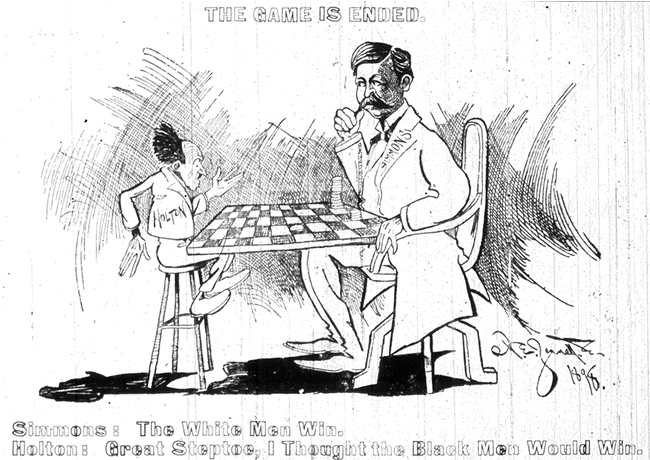 """The Game is Ended,"" Raleigh <em>News and Observer</em>, November 10, 1898"