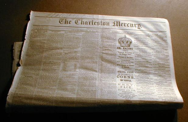 """The Land Attack on Wilmington - Defence and Fall of Fort Fisher,"" Charleston<em> Mercury</em>, January 18, 1865<em><br /></em>"