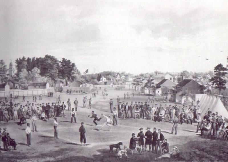 Salisbury Baseball Match