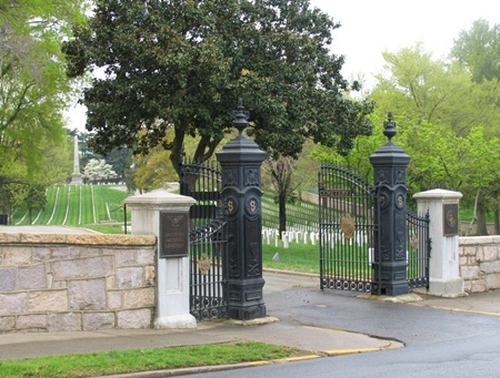 Salisbury National Cemetery Entrance