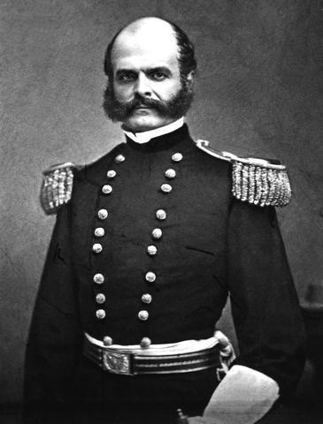 General Ambrose E. Burnside, May 23, 1824 – September 13, 1881
