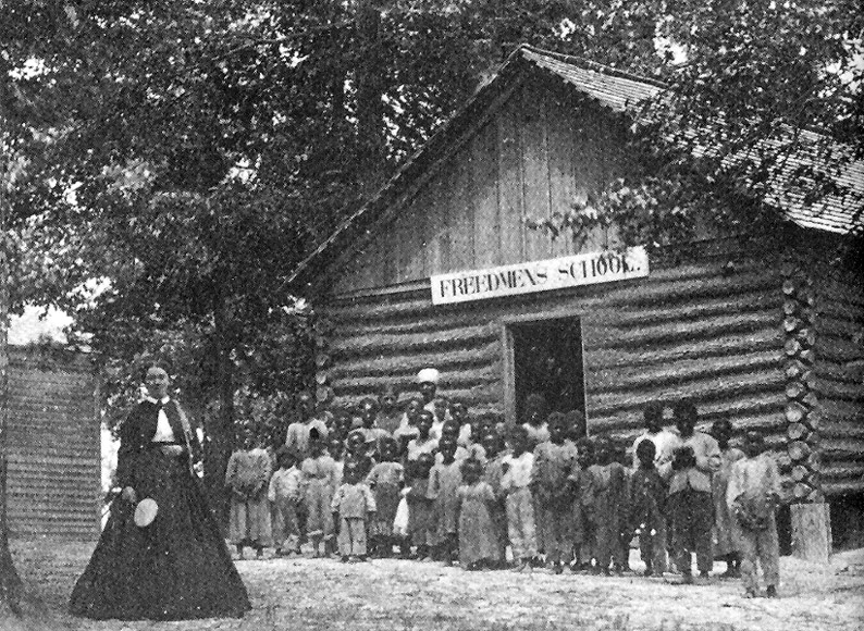 James' Plantation Freedmen's School, ca. October 1868