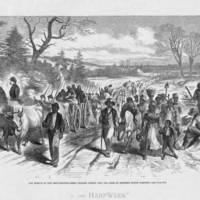 Effects of the Proclamation, Freed Negroes Coming into Our Lines at New Bern, North Carolina.jpg