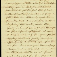 Letter from Benjamin S. Hedrick to Charles Manly, October 28, 1856, Page 1