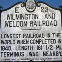 Wilmington & Weldon Railroad Historic Marker.jpg