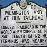 Wilmington & Weldon Railroad Historic Marker.jpg