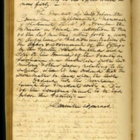 Minutes of the Executive Committee Resolutions Regarding Benjamin S. Hedrick's Actions, October 11, 1856, Page 2