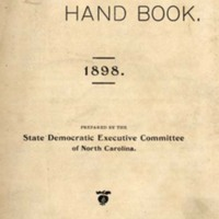 <em>The Democratic Hand Book, 1898</em>