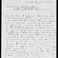 Amnesty Petition of W.G. Lewis, June 20, 1865