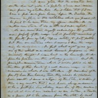 Letter from Benjamin S. Hedrick to Charles Manly, October 14, 1856, Page 1