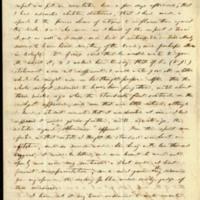 Benjamin Sherwood Hedrick to Governor Thomas Bragg , October 6, 1856, Page 2