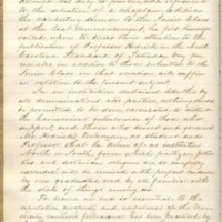 Proceedings of the Faculty Regarding Benjamin S. Hedrick's Actions, October 6, 1856, Page 1