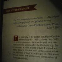 "Michael Moore, Exhibit panel in ""North Carolina and the Civil War,"" 2013"