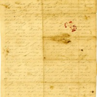 Martha Hendley Poteet, Letter to Francis Marion Poteet (Jan. 21, 1864)
