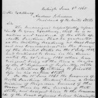 Amnesty Petition of Richard C. Gatlin, June 8, 1865