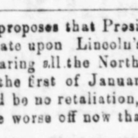 Specific -- proclamation on nothern slaves 1862-11-18.jpg