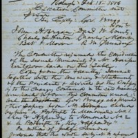 Letter from Charles Manly to David L. Swain, October 18, 1856, Page 5