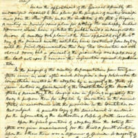 Letter of North Carolina General Assembly representatives to the Peace Conference to Governor Ellis, February 27, 1861