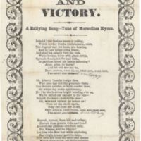 Fremont and Victory. A Rallying Song--Tune of Marseilles Hymn