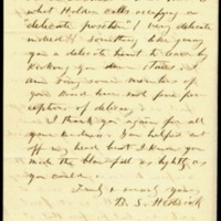 Letter from Benjamin S. Hedrick to Charles Manly, October 28, 1856, Page 2