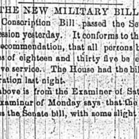 """The New Military Bill,"" April 16, 1862"
