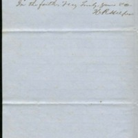 Letter from Hinton R. Helper to Benjamin S. Hedrick, October 15, 1856, Page 2