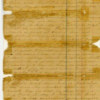 Martha Hendley Poteet, Letter to Francis Marion Poteet (June 16, 1864)