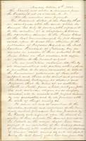 Proceedings of the Faculty Regarding Benjamin S. Hedrick's Actions, October 6, 1856, Page 1