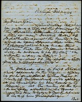 Letter from Charles Manly to David L. Swain, October 4, 1856, Page 1
