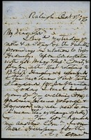 Letter from Charles Manly to David L. Swain, October 8, 1856, Page 1